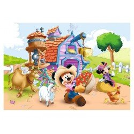 Puzzle Trefl Myszka Miki Farmer 160 el.