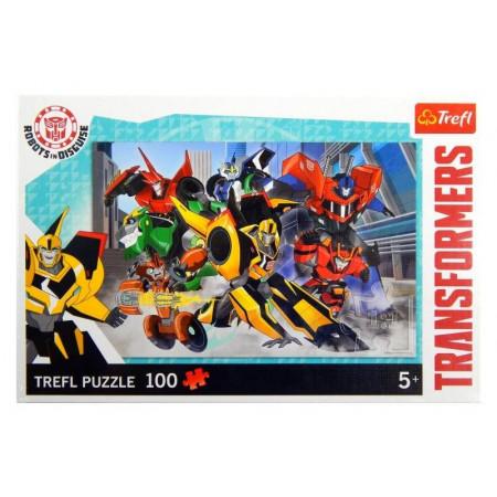 Puzzle TRANSFORMERS Drużyna Autobotów 100 el. TREFL