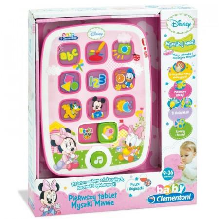 Baby Clementoni Komputer Tablet Myszka Minnie Disney