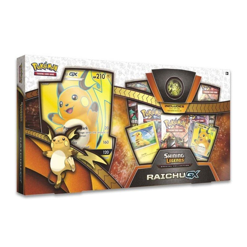 Pokemon Shining Legends Special Collection RAICHU-GX