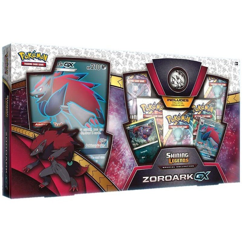 Pokemon Shining Legends Special Collection ZOROARK GX