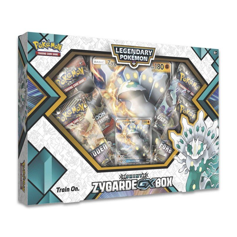 Pokemon Shiny ZYGARDE-GX Box