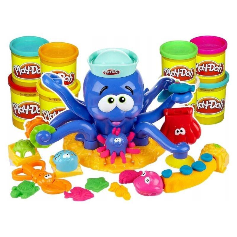 Ciastolina Play-Doh zestaw OŚMIORNICA 8 kolorów Hasbro