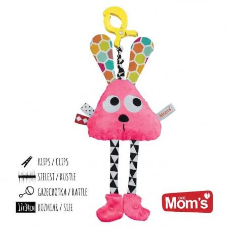 Mom's Care Długołapek Różowy Klips