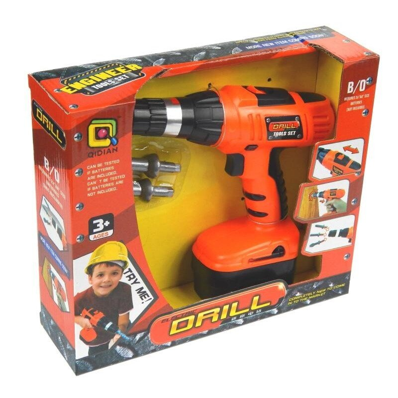 Wiertarko-Wkrętarka na baterie dla dzieci