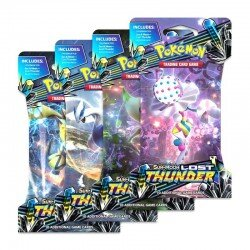 Pokemon Sun & Moon 8: Lost Thunder Sleeved Booster