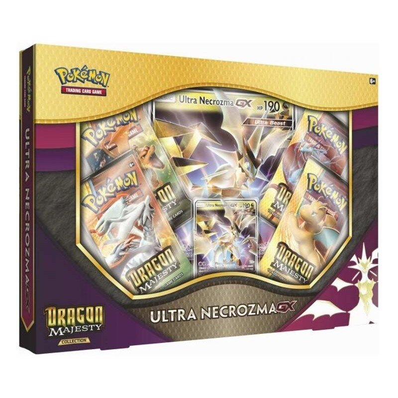 Pokemon Dragon Majesty ULTRA NECROZMA-GX Box