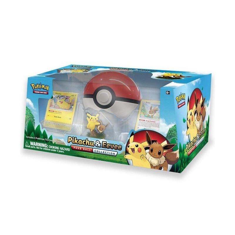 Pokemon TCG Pikachu & Eevee Poke Ball Collection