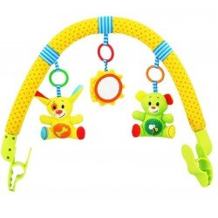 Kolorowy Pałąk do wózka Baby Mix