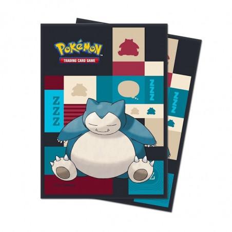 Koszulki na karty Pokemon SNORLAX Ultra PRO 65 szt.