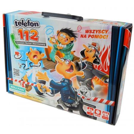 Gra Edukacyjna Telefon 112 Wszyscy na pomoc