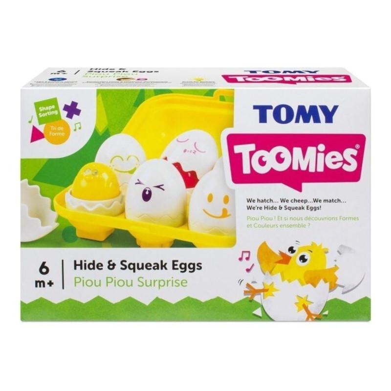 Wesołe jajeczka sorter Tomy