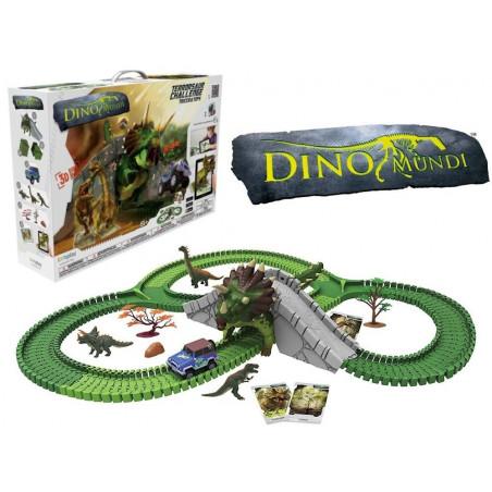 Dino Mundi Tor z Dinozaurami Atak Triceratopsa 200 el.