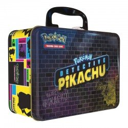 Pokemon Detective Pikachu Collector's Chest Treasure Tin