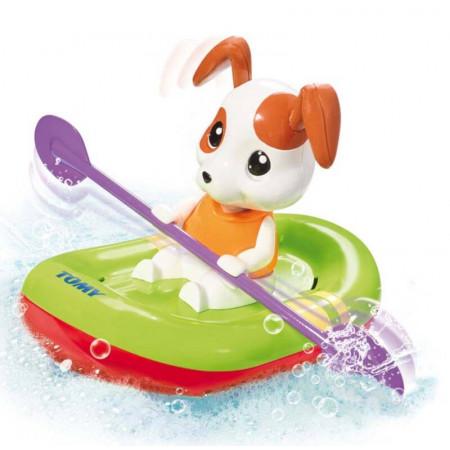 Tomy wiosłujący szczeniaczek do kąpieli