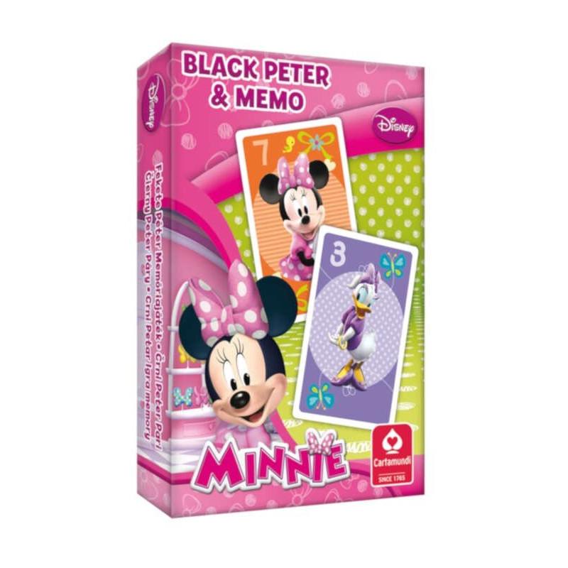 Myszka Minnie Memo / Czarny Piotruś Cartamundi
