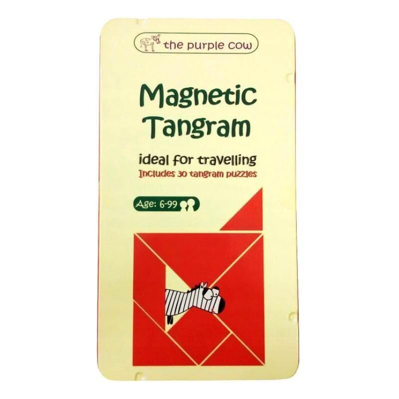 Tangram - podróżna gra magnetyczna Purple Cow