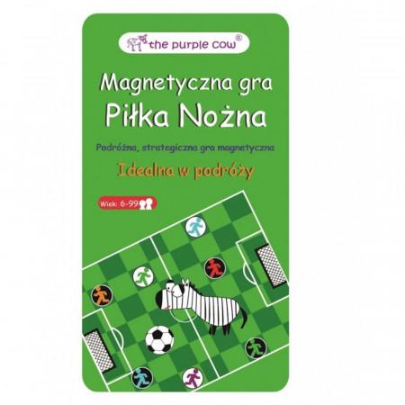 Piłka Nożna - podróżna gra magnetyczna Purple Cow
