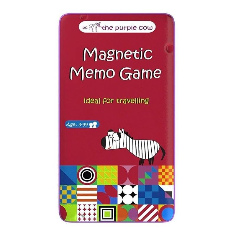 Bingo - podróżna gra magnetyczna Purple Cow