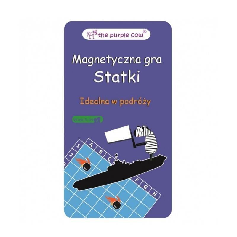 Statki - podróżna gra magnetyczna The Purple Cow