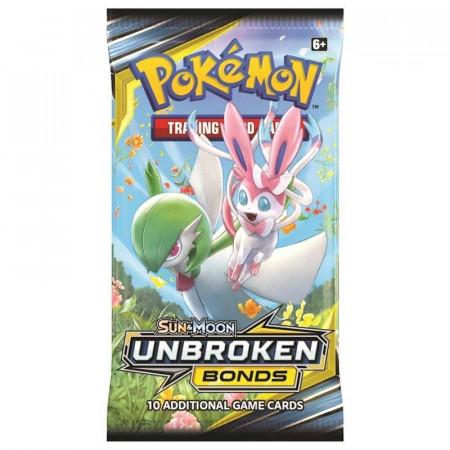 Pokemon Sun & Moon 10: Unbroken Bonds BOOSTER