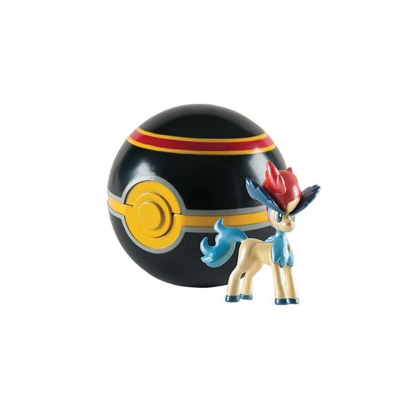 Figurka Pokemon Keldeo i duży PokeBall Edycja Specjalna Tomy