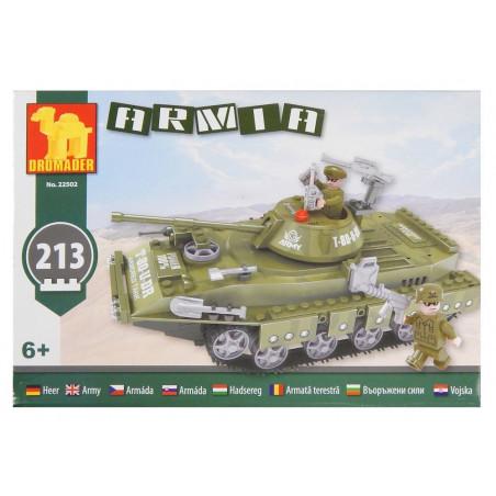 Klocki Dromader Armia Czołg tropikalny 213 el.