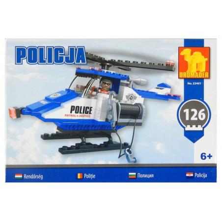 Klocki Dromader Policyjny Helikopter 126 el.