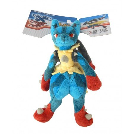 Duży pluszowy Pokemon Mega Lucario 26 cm Tomy