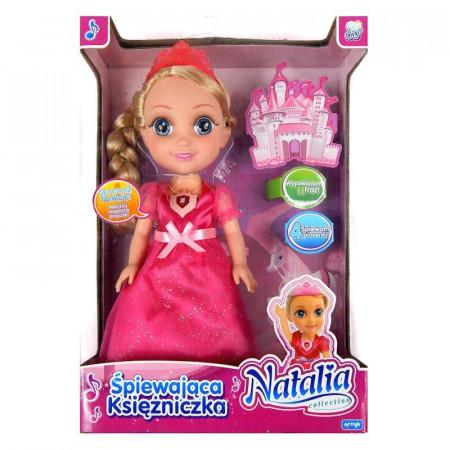 Lalka Natalia śpiewająca księżniczka