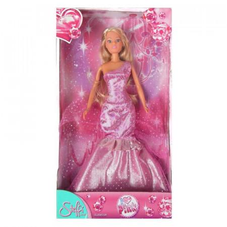 Lalka Steffi I Love Pink w różowej sukni