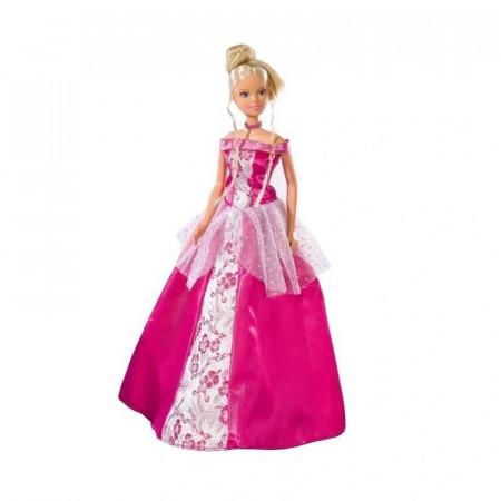 Lalka Steffi romantyczna w różowej sukni
