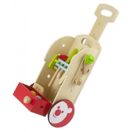 Drewniany Wózek z Narzędziami Classic World
