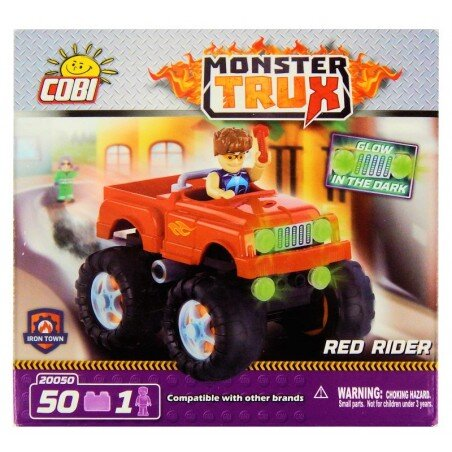 Cobi Klocki Monster Trux Czerwony Jeździec 50 el.