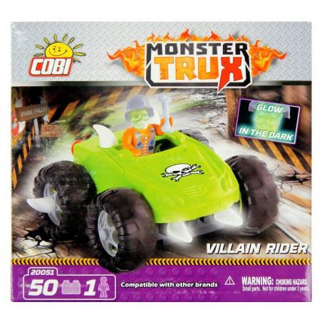 Cobi Klocki Monster Trux Mroczny Jeździec 50 el.