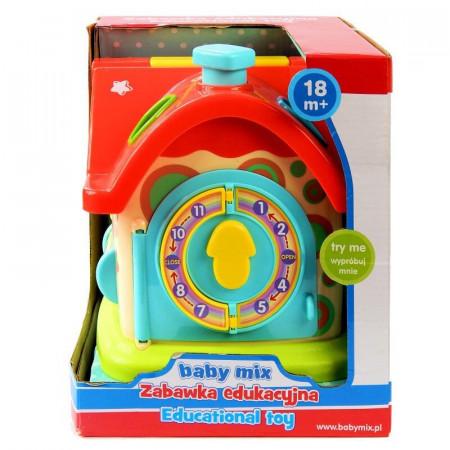 Zabawka edukacyjna Domek Baby Mix sorter kształtów