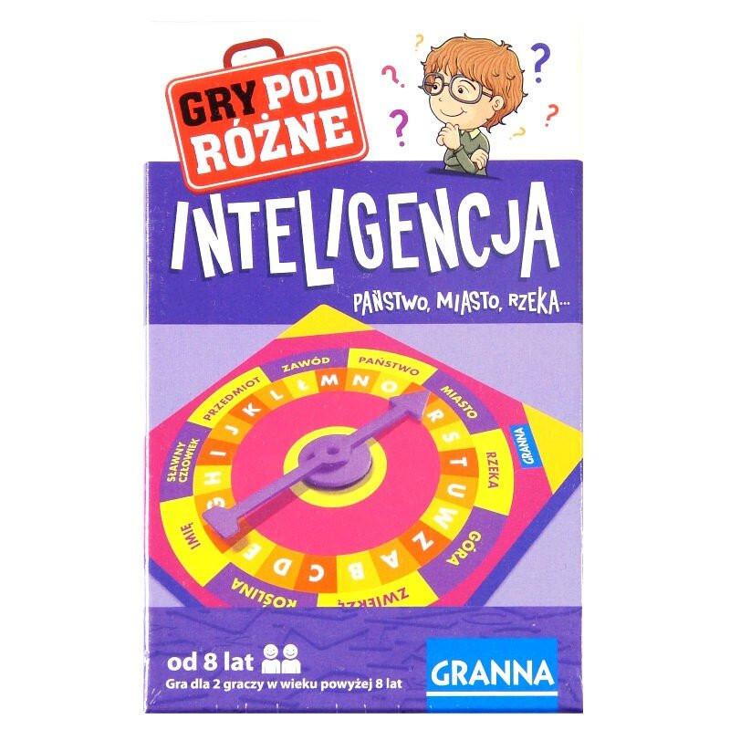 Granna Gra Inteligencja podróżna kieszonkowa