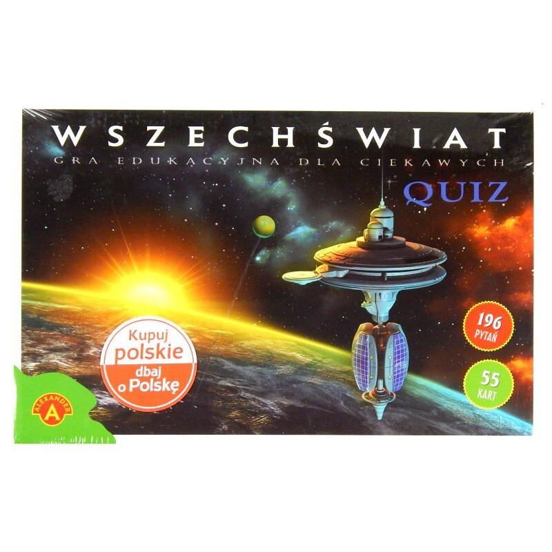 Quiz Wszechświat Alexander Gra edukacyjna 196 pytań