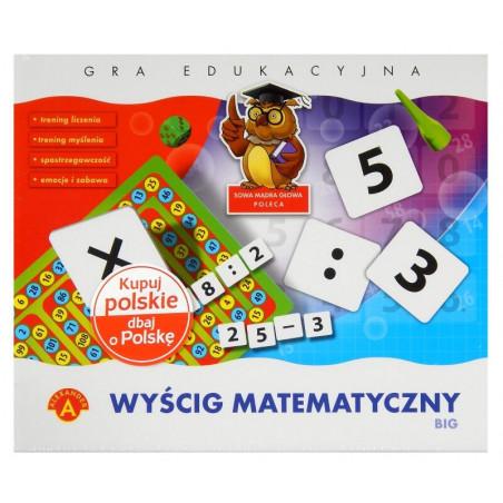 Wyścig Matematyczny Big Alexander Gra planszowa