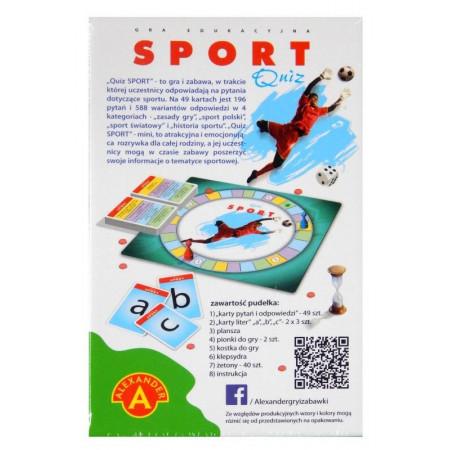 Mini Quiz Sport Alexander 196 pytań