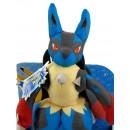 Duży pluszowy Pokemon Mega Lucario 40 cm z dźwiękiem Tomy