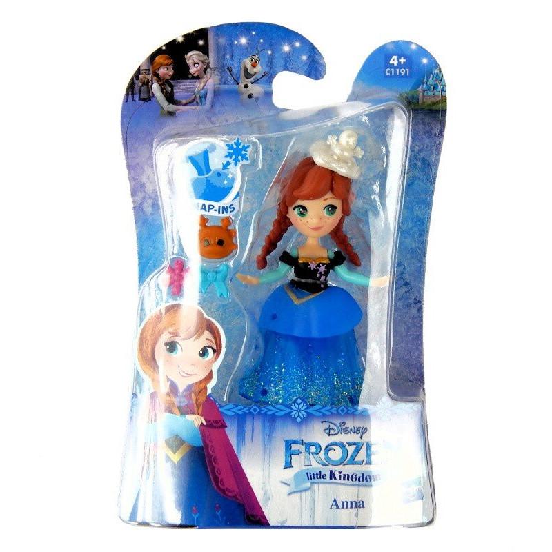 Mini Laleczka ANNA Figurka Disney Frozen Hasbro