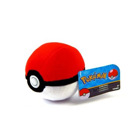 Pluszowy Poke Ball Pokemon Tomy 12cm