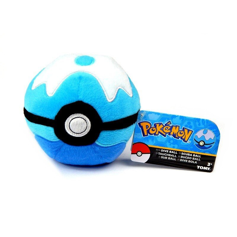 Pluszowy Dive Ball Pokemon Tomy 12cm