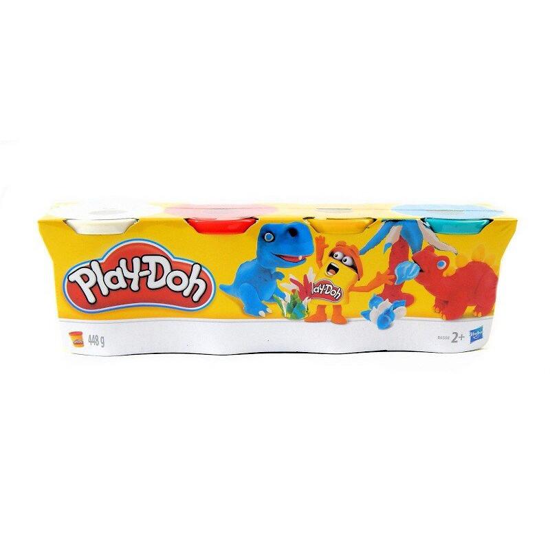Hasbro Ciastolina Play-Doh 4 Tuby Rybki
