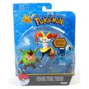 Figurki Pokemon 3-pack Quilladin, Braixen, Frogadier TOMY