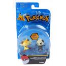 Komplet 2 figurek Pokemon Meowth i Pancham TOMY