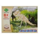 Tyranozaur REX drewniane puzzle 3D przestrzenne
