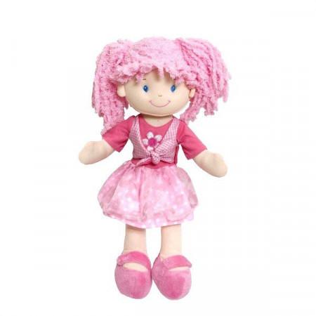 Lalka Szmacianka Różowa Paula 35 cm BEPPE