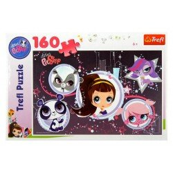 Puzzle Trefl 160 el. Littlest Pet Shop Gwiazdy